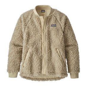 Patagonia Girls' Retro‑X Fleece Bomber Jacket
